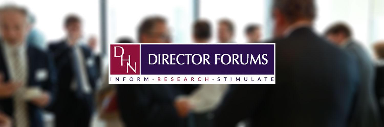Director Forums Banner